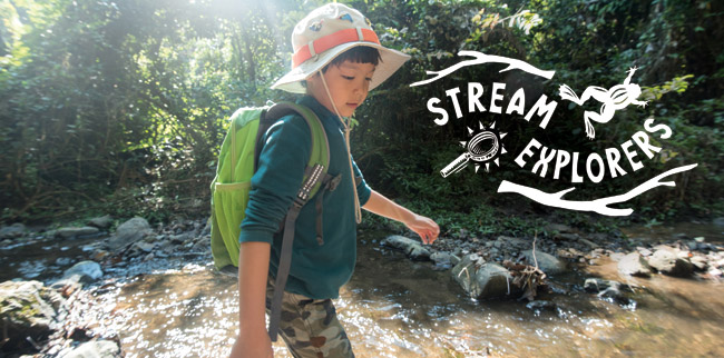 2018 announcement for the Stream Explorers Youth Conference