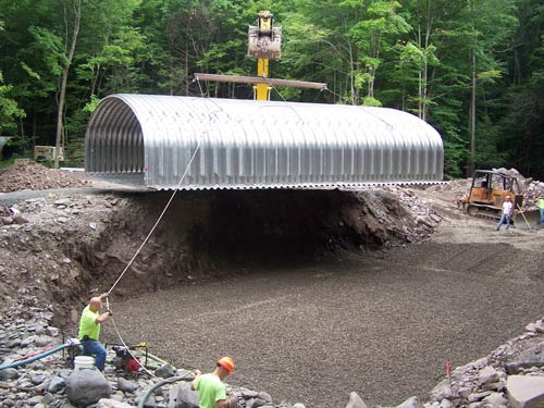 culvert installation