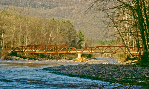 Bridge over the Esopus Creek