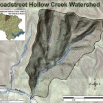 Map of Broadstreet Hollow Creek