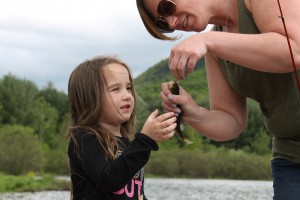 Learning to fish at Family Fun and Fish Day