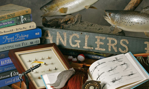 Jerry Bartlett Angling Collection at the Phoenicia Library