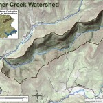 Map of Warner Creek