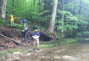 Neversink River - Cross Section Survey