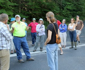 Highway Superintendent Reynolds talks about stream crossings.