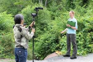 Keiko Sono interviews Allison Lent, AWSMP Stream Assessment Coordinator with the Ulster County Soil & Water Conservation District, June 2017.
