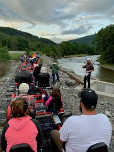 Adam Doan Presents along Esopus Creek