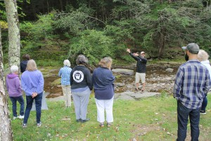 AWSMP Stream Educator Tim Koch gets excited talking about stream features.