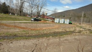 The Catskill Streams Buffer Initiative (CSBI) prepares a riparian buffer demonstration site on the grounds of the Emerson Resort and Spa in Mount Tremper.
